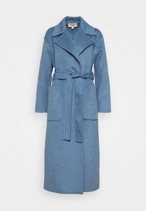 DOUBLEFACE ROBE COAT - Klasický kabát - blue
