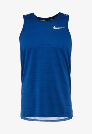 DRY MILER TANK - Sports shirt - indigo force/reflective silver