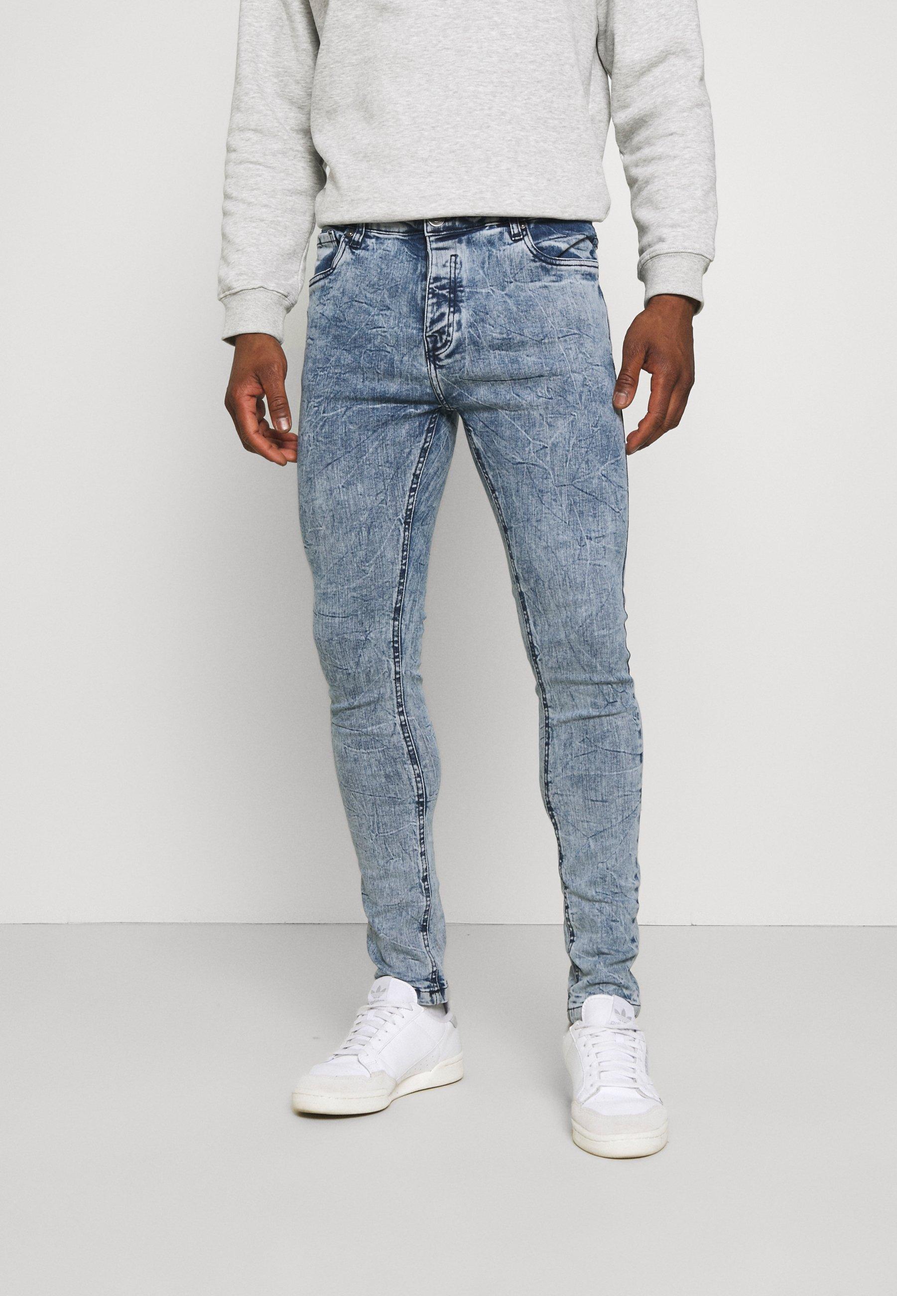 Men Jeans Skinny Fit - blue