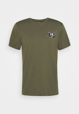 NFL DIGI CAMO SAN FRANCISCO 49ERS TEE - Club wear - olive