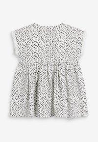 Next - BUNNY FACE - Day dress - white/black - 2