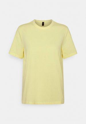 YASSARITA O NECK TEE - Basic T-shirt - french vanilla