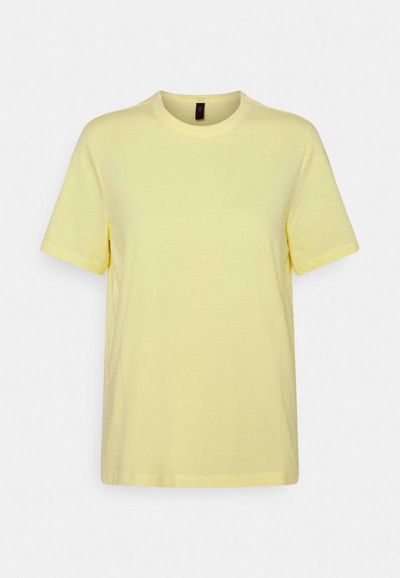 YAS - YASSARITA O NECK TEE - Basic T-shirt - french vanilla
