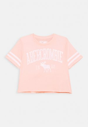 SHINE SPORTY TEE - Print T-shirt - pink