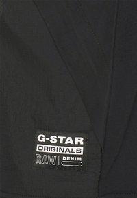 G-Star - MIXED BASEBALL ZIP THROUGH - Bomberjacks - black - 5