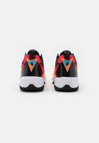 Jordan - ZOOM '92 - High-top trainers - siren red/blue fury/black/total orange - 3