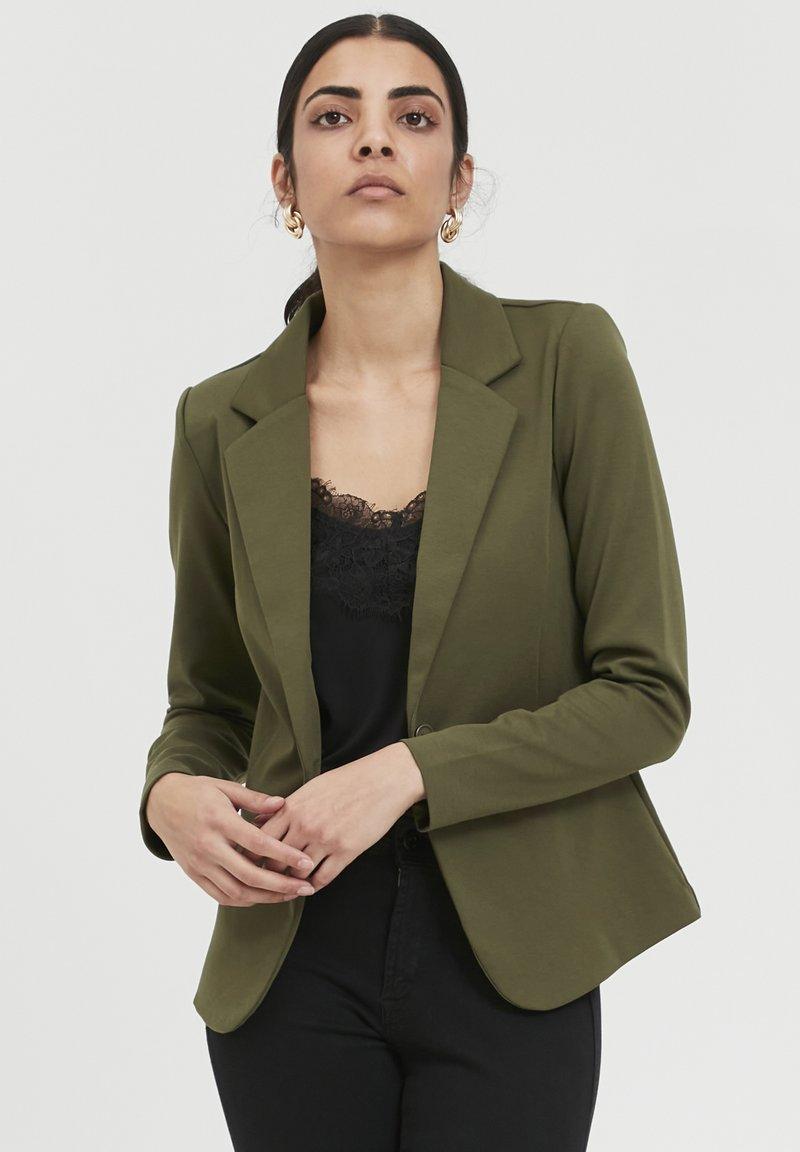 ICHI - IHKATE  - Blazer - ivy green