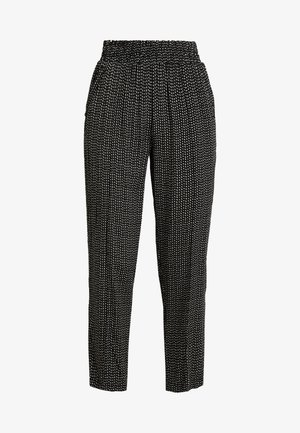 PCHILARY CROPPED PANT - Bukse - black