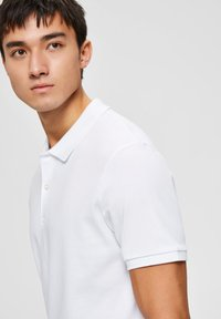 Selected Homme - Polo shirt - bright white - 3