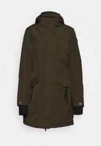 GRINDAVIK - Zimní kabát - dunkeloliv