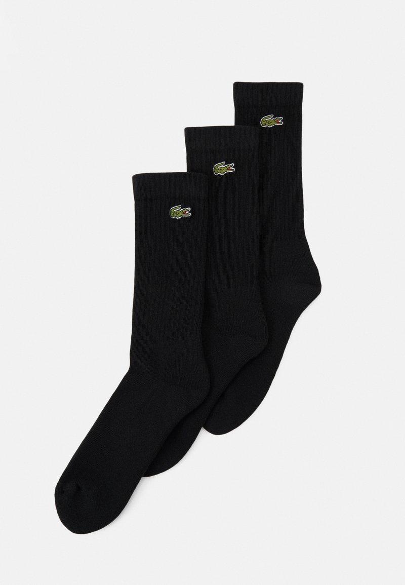 Lacoste - 3 PACK - Socks - black