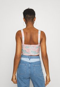 Missguided - TIE DYE CORSET - Top - pink - 2