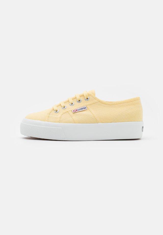 2730 - Sneakers laag - beige