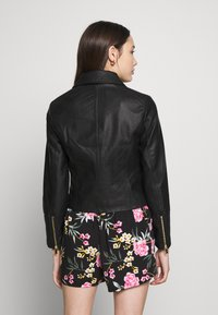 New Look Petite - AFFODIL QUILTED BIKER - Veste en similicuir - black - 2