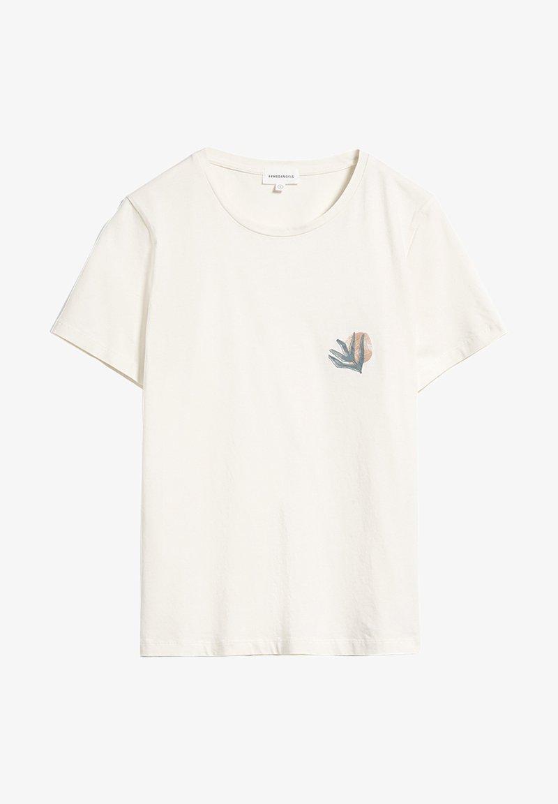 ARMEDANGELS - MARAA LITTLE LEAF - Print T-shirt - undyed