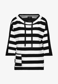 Monari - Sweatshirt - schwarz ringel - 1