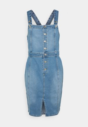 ONLAIA LIFE SPENCER DRESS - Denim dress - light blue denim