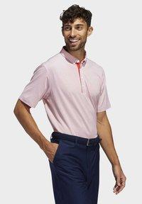adidas Golf - ADIPURE OTTOMAN POLO SHIRT - Funktionsshirt - red - 4