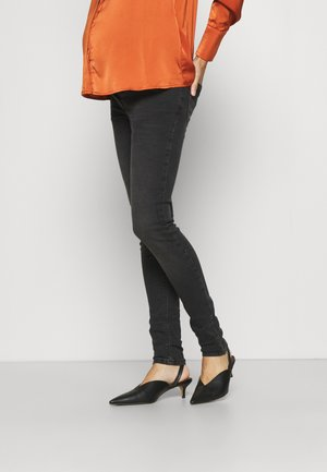 SOPHIA 32 EMBROIDERY - Jeans Skinny Fit - charcoal
