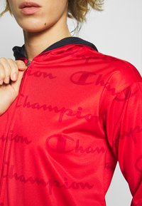 Champion - HOODED FULL ZIP SUIT - Chándal - red - 5