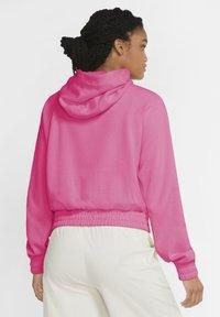 Nike Sportswear - Sudadera con cremallera - pinksicle/black - 2
