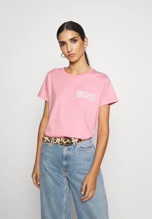 TEE MICH BE GOOD DO GOOD - T-shirt print - candy