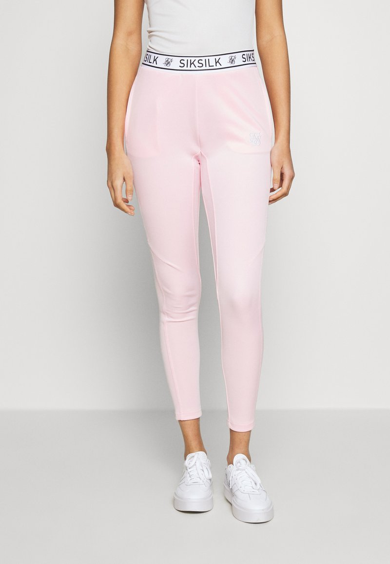 SIKSILK - ATHLETE TRACK PANTS - Legíny - pink