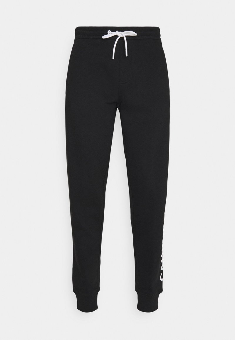 Calvin Klein Jeans - VERTICAL LOGO PANT - Teplákové kalhoty - black