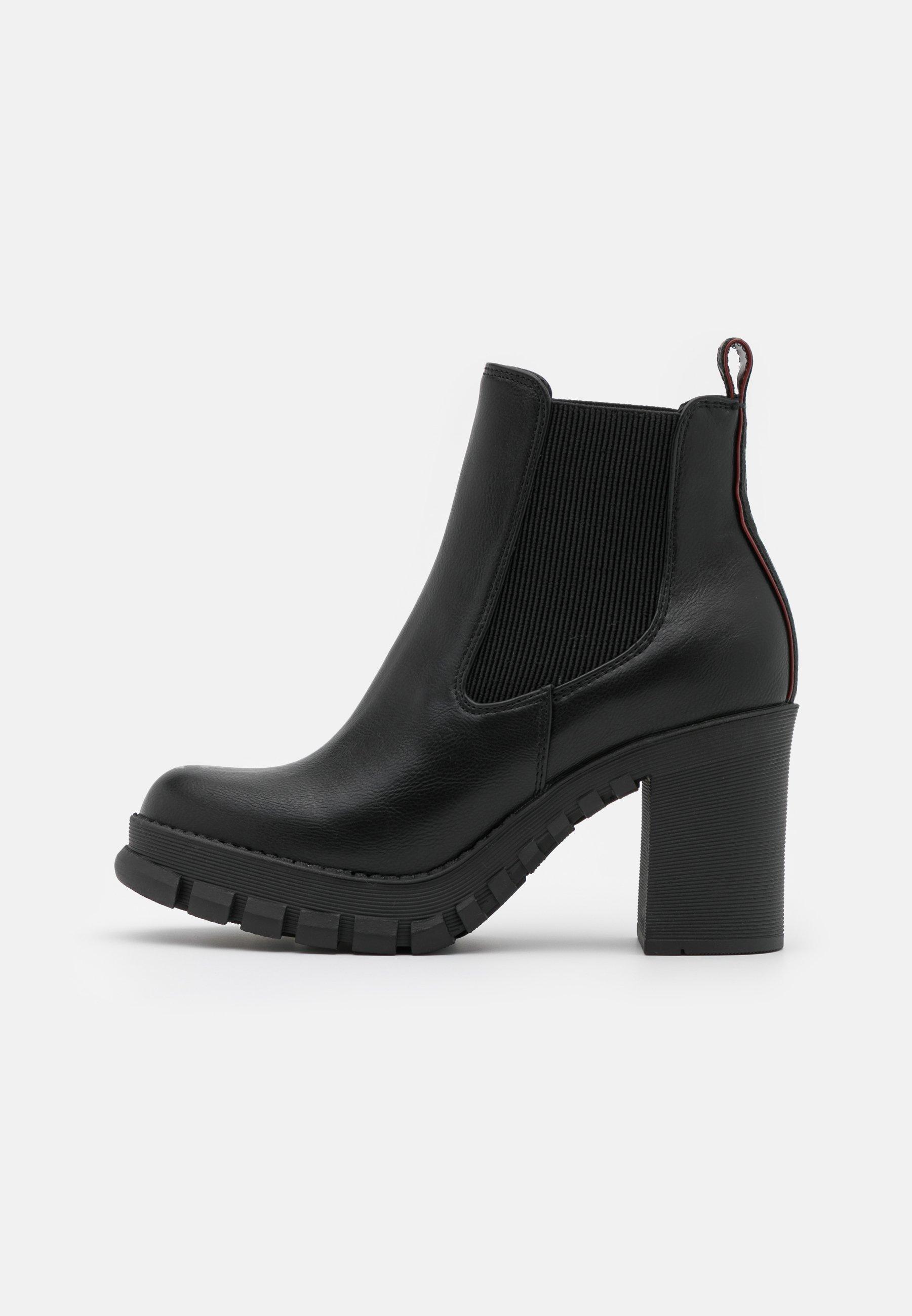 Buffalo Marlee - High Heel Stiefelette Black/schwarz