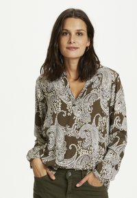 Kaffe - PAISLEY BLOUSE - Blouse - grape leaf paisley print - 0