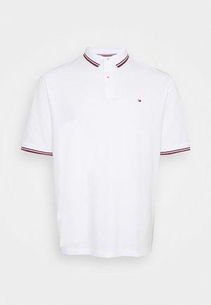 TIPPED POLO - Polo - white