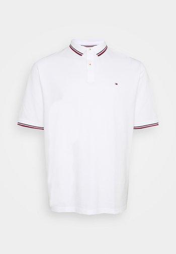 TIPPED POLO - Poloshirt - white