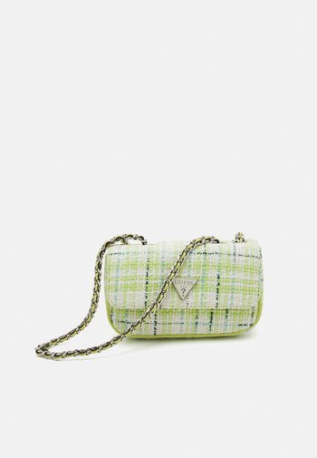 CESSILY MICRO MINI - Across body bag - lime/multi