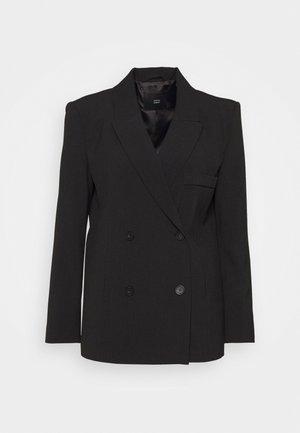 CAROL SOPHISTICATED - Krátký kabát - black grey