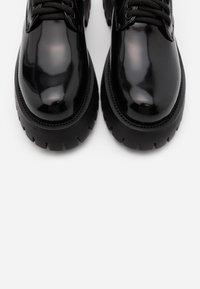Koi Footwear - VEGAN EAGLE - Lace-ups - black - 5
