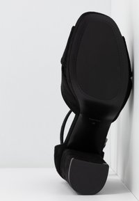 PARFOIS - Højhælede sandaletter / Højhælede sandaler - black - 6