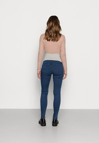 MAMALICIOUS - MLZIBO - Jeggings - dark blue denim - 2