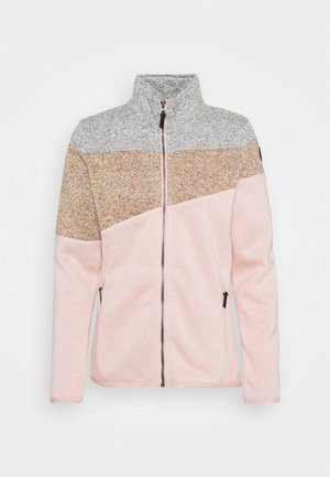 ALTOONA - Fleece jacket - light pink