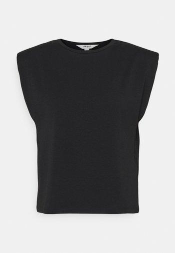 OBJSTEPHANIE JEANETTE - Print T-shirt - black