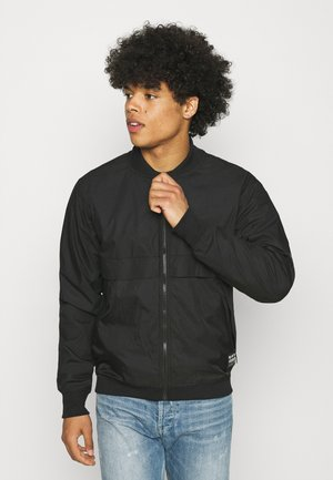 MIXED BASEBALL ZIP THROUGH - Bombertakki - black