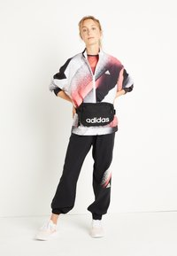 adidas Performance - Training jacket - white/signal pink/black - 2