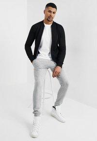 TOM TAILOR DENIM - JACKET - Zip-up hoodie - black - 1