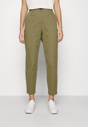 SLFNORA CROPPED PANT - Chino kalhoty - aloe