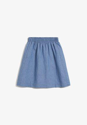 FRIDRIKAA - A-line skirt - foggy blue