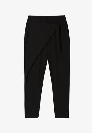 AMIKA - Kalhoty - black