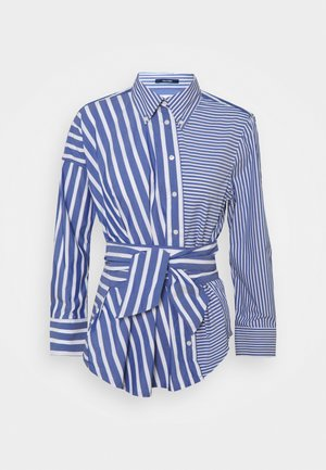 MIX STRIPE SHIRT - Košile - college blue