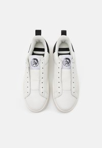 Diesel - CLEVER S-CLEVER SOSNEAKERS - Slip-ons - white/black - 3