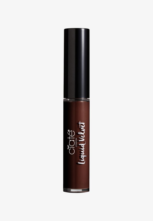 MATTE LIQUID LIPSTICK - Flytande läppstift - obsession-dark chocolate