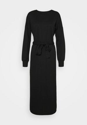 ONLHOLLIE LONG BELT DRESS - Robe d'été - black