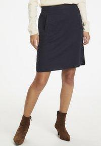 Part Two - RHAPSODYPW  - Mini skirt - dark navy - 0